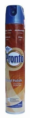 Pronto Wood polish 400 ml (hnědé)