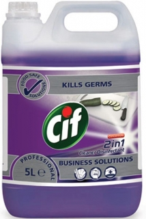 Cif Professional 2v1 Cleaner Disinfectant 5 l