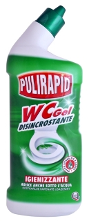 Pulirapid WC gel 750 ml